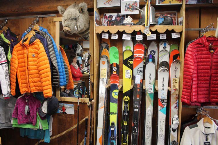 magasin ski St Nicolas de Véroce